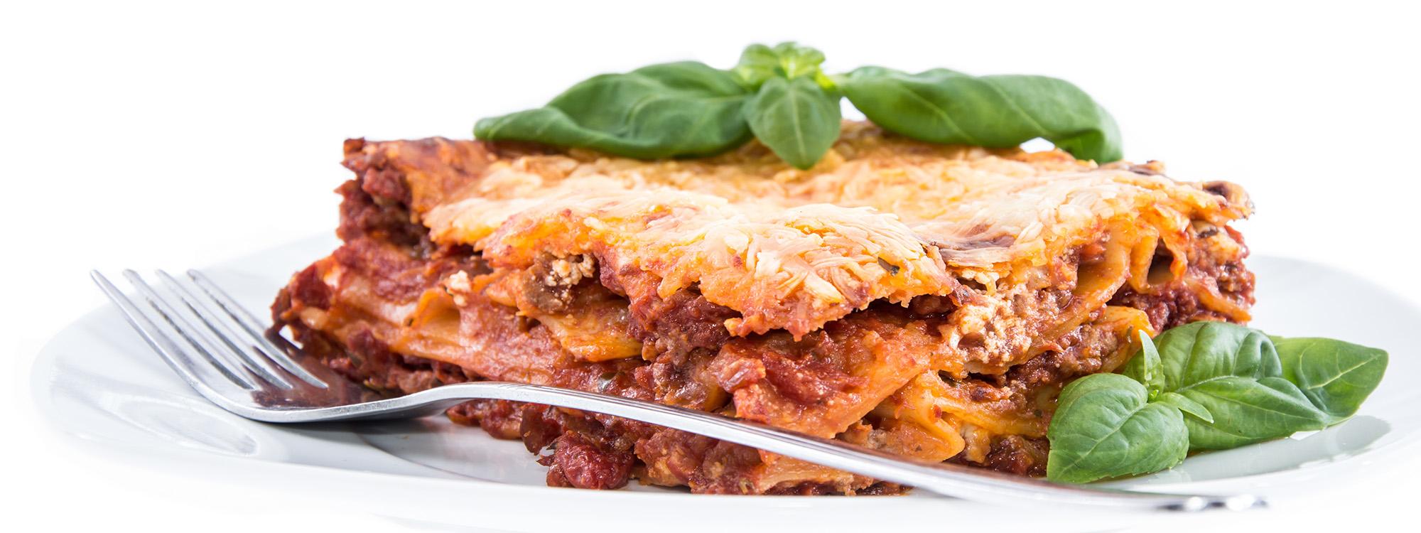 Hausgemachte Pasta nach italienischer Art